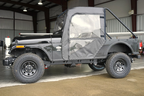 Mahindra Roxor Soft Doors & Rear Window Combo by Over Armour Offroad