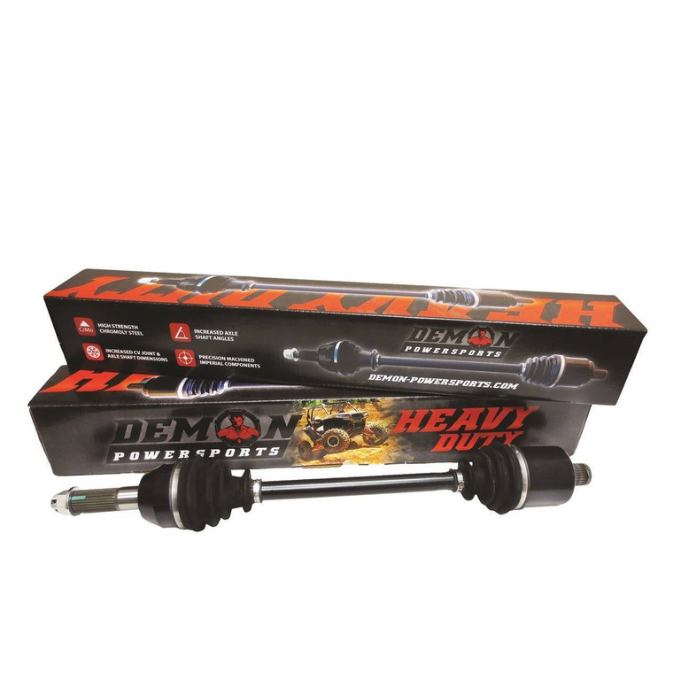 Can Am Maverick Max 1000 Demon Heavy Duty Stock Length FRONT Axles - Right or Left