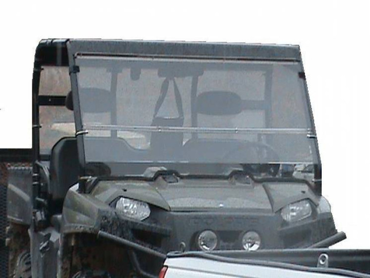 2009-2014 Polaris Ranger Folding Polycarbonate Windshield - Clear or Tinted