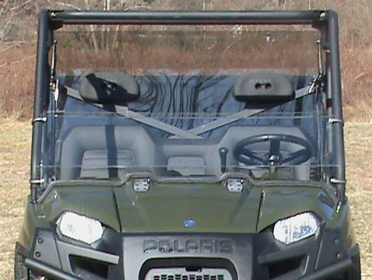 2002-2008 Polaris Ranger Polycarbonate Half Windshield - Clear or Tinted