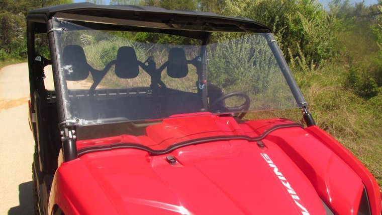 Yamaha Viking Polycarbonate Full Windshield - Clear or Tinted