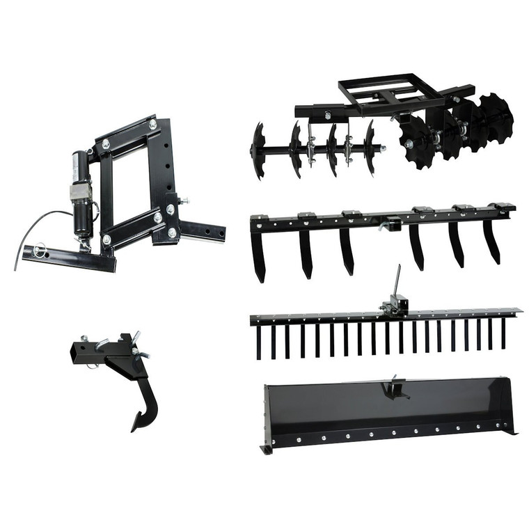 IMPACT Implements Pro 6-Piece Hydraulic Kit ATV UTV