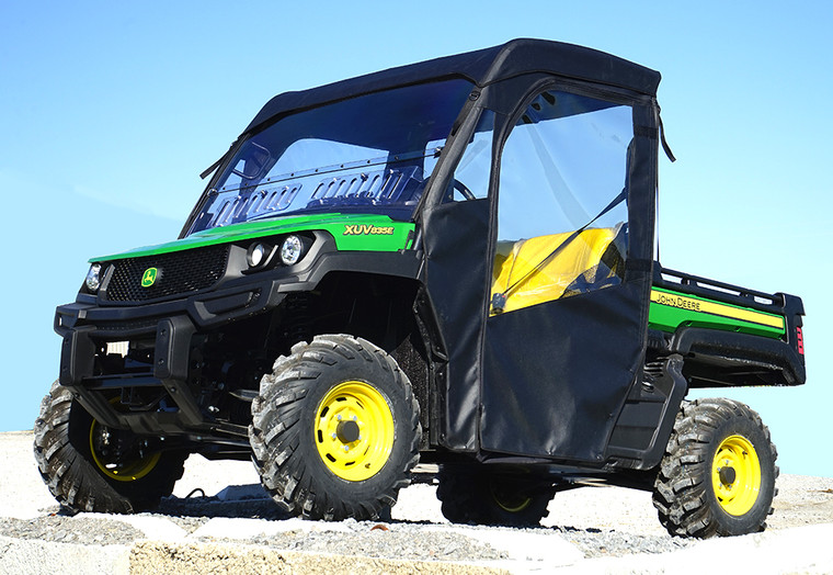 John Deere Gator XUV 835 Full Cab Enclosure with Aero-Vent Hard Windshield by Over Armour Offroad | Item#: JD-835-FC04