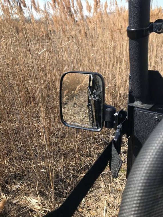Mahindra ROXOR Set of Folding Side-View Mirrors | #13858 by Extreme Metal Products