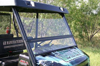 Kawasaki Mule 4000 4010 Trans Hard Utv Windshield Folding