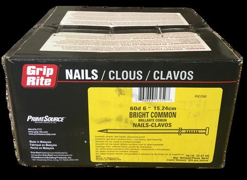 50lb Box of 2 6d Hardened Steel Flooring Nails.