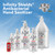 Infinity Shields Antibacterial Hand Sanitizer Gel with Aloe - Professional Strength, Leaves Hands Clean & Odorless 16 oz (Pack of 2)