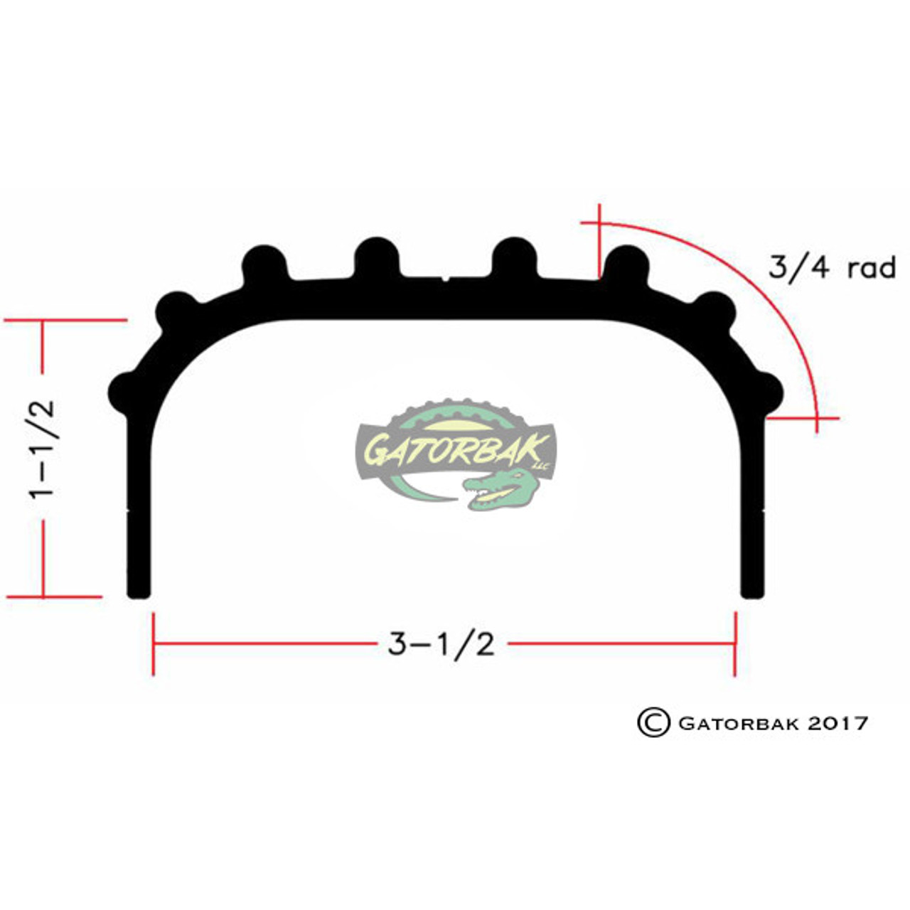 Rounded-Top 2x4 GBRE350XP Kits