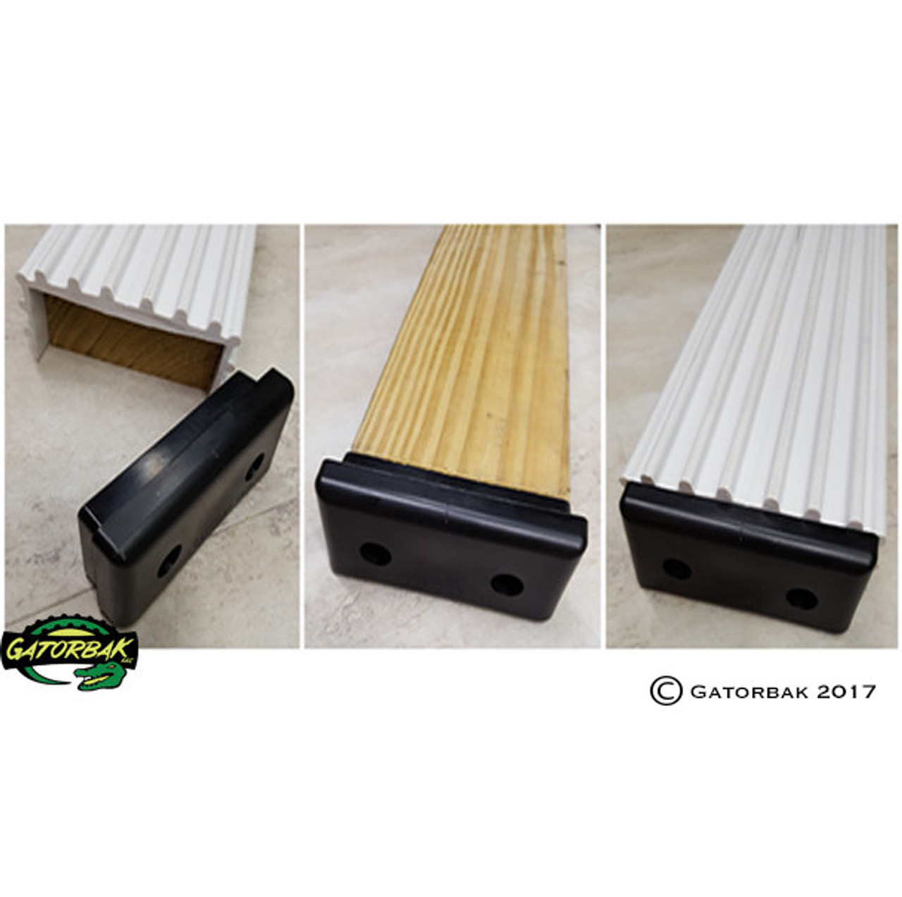 2x4 Flat GB350 End Cap