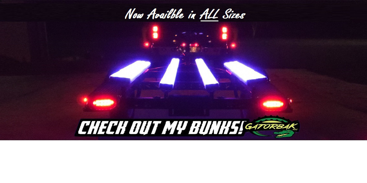 Clear Gatorbak bunk covers available in all sizes.