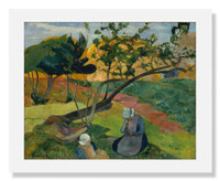 Paul Gauguin, Landscape with Two Breton Women
