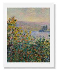Claude Monet, Flower Beds at VŽtheuil