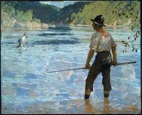 Frank Weston Benson, Salmon Fishing