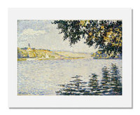 Paul Signac, View of the Seine at Herblay