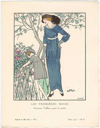 Francisco Javier GosŽ, Les Premires Roses  - Costume Tailleur pour le matin