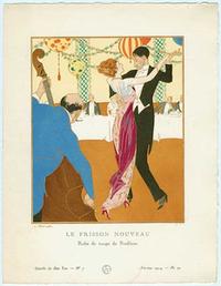 Louis Strimpl, Le Frisson Nouveau  - Robe de tango de Redfern