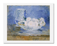 Berthe Morisot, White Flowers in a Bowl