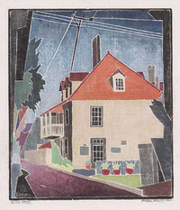 Blanche Lazzell Aviles Street (Fatio House