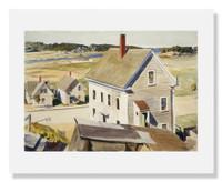 Edward Hopper, House by ÔSquam River, Gloucester