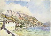 Edward Darley Boit, Morning at Riva