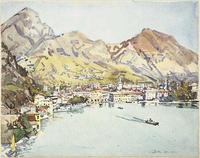 Edward Darley Boit, Rio di San Barnaba