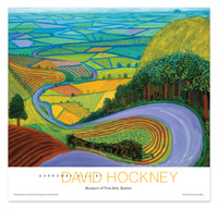 David Hockney, Garrowby Hill Poster