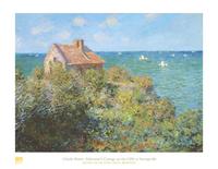 Claude Monet, Fisherman's Cottage Poster