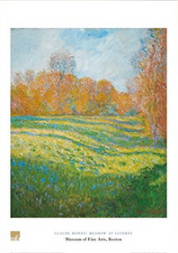 Claude Monet, Meadow at Giverny Poster