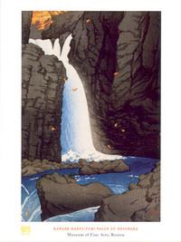 Kawase Hasui, Yuki Falls Poster