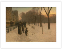 Hassam Boston Common at Twilight