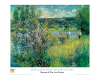Pierre-Auguste Renoir, The Seine at Chatou Poster