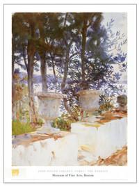 John Singer Sargent, Corfu: The Terrace Poster