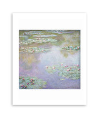 Claude Monet, Water Lilies, 1907  Matted Print