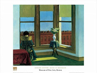 Edward Hopper, Room in Brooklyn Poster