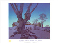 Maxfield Parrish, Hill Top Farm Poster