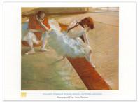 Edgar Degas, Dancers Resting Poster
