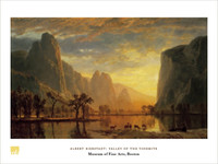 Albert Bierstadt, Valley of the Yosemite Poster