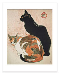 Steinlen Two Cats