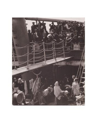 Alfred Stieglitz, The Steerage 11 x 14 Matted Print