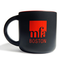 MFA Boston Logo Mug - Red