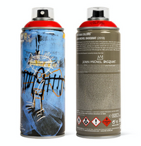 MTN Special Edition Jean Basqiat Spray Paint Can - Red