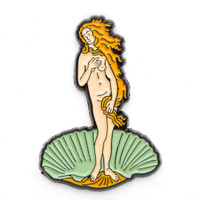 "Sandro Botticelli ""Birth of Venus"" Enamel Pin"