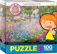 Monet, Monet's Garden Puzzle - 100 Pieces