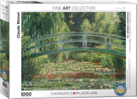 Claude Monet, The Japanese Footbridge Puzzle - 1000 Pieces
