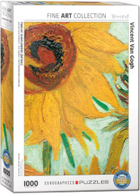 Vincent Van Gogh, Sunflower 1000 Piece Puzzle