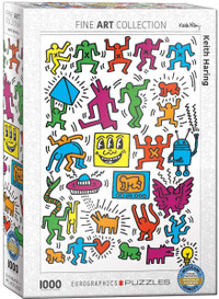 Keith Haring Puzzle - 1000 Pieces