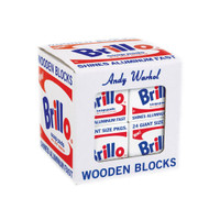 Andy Warhol Wood Blocks