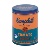 Andy Warhol Soup Can Orange Puzzle - 300 Pieces