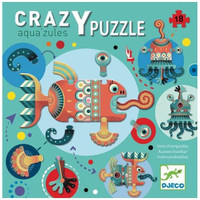 Aqua'zules Crazy Giant Floor Puzzle - 18 Pieces