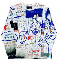 "Basquiat ""Hollywood Africans"" Unisex Long Sleeve Shirt"